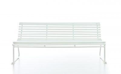 Oslobenken standard hvit