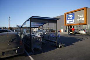 Handlevognskur NM ved COOP Sarpsborg