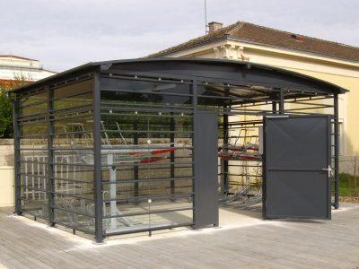 Sykkelstativ i 2 Høyder – 2ParkUp. Dobbelt stativ i 2 etasjer i Modulere Sykkelparkeringshus
