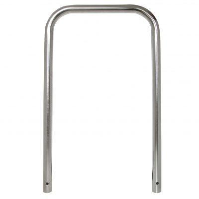 Sperre eller sykkelstativ. Bøyle Stor Rustfritt Ø 48mm