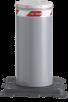 Pullert Fast Pilomat PL-Serien Med Bunnplate, Avskrubar. Pilomat fast pullert 275PL-600F