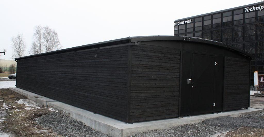 Powerhouse Kjørbo - BREEAM Sykkelparkeringshus 16m