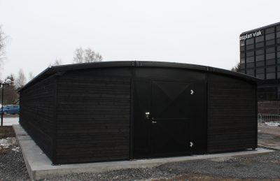 Sykkelparkeringshus Modulere 1 Etasjes Powerhouse Kjørbo