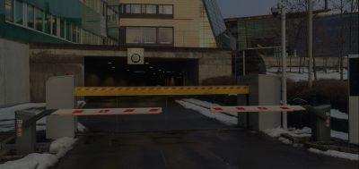 Telenor Fornebu automatiske bommer og Pilomat barriere