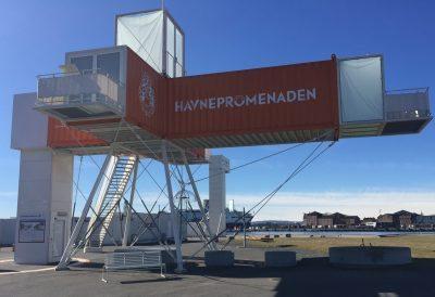Oslobenken Havnepromenaden