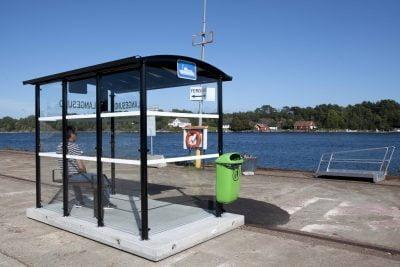Busskur AluLine Langesund Bamble