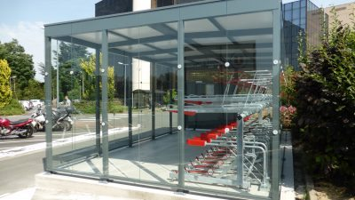 Sykkelparkeringshus Square Plus