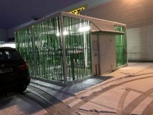 Sykkelhus Nomade 4 - 40 plasser Tiller