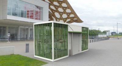 Sykkelparkeringshus NOMADE 4