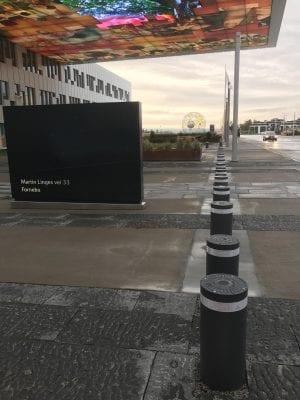 Pullert antiterror avtakbar Pilomat 275K4RM Statoil Fornebu uten logo 3